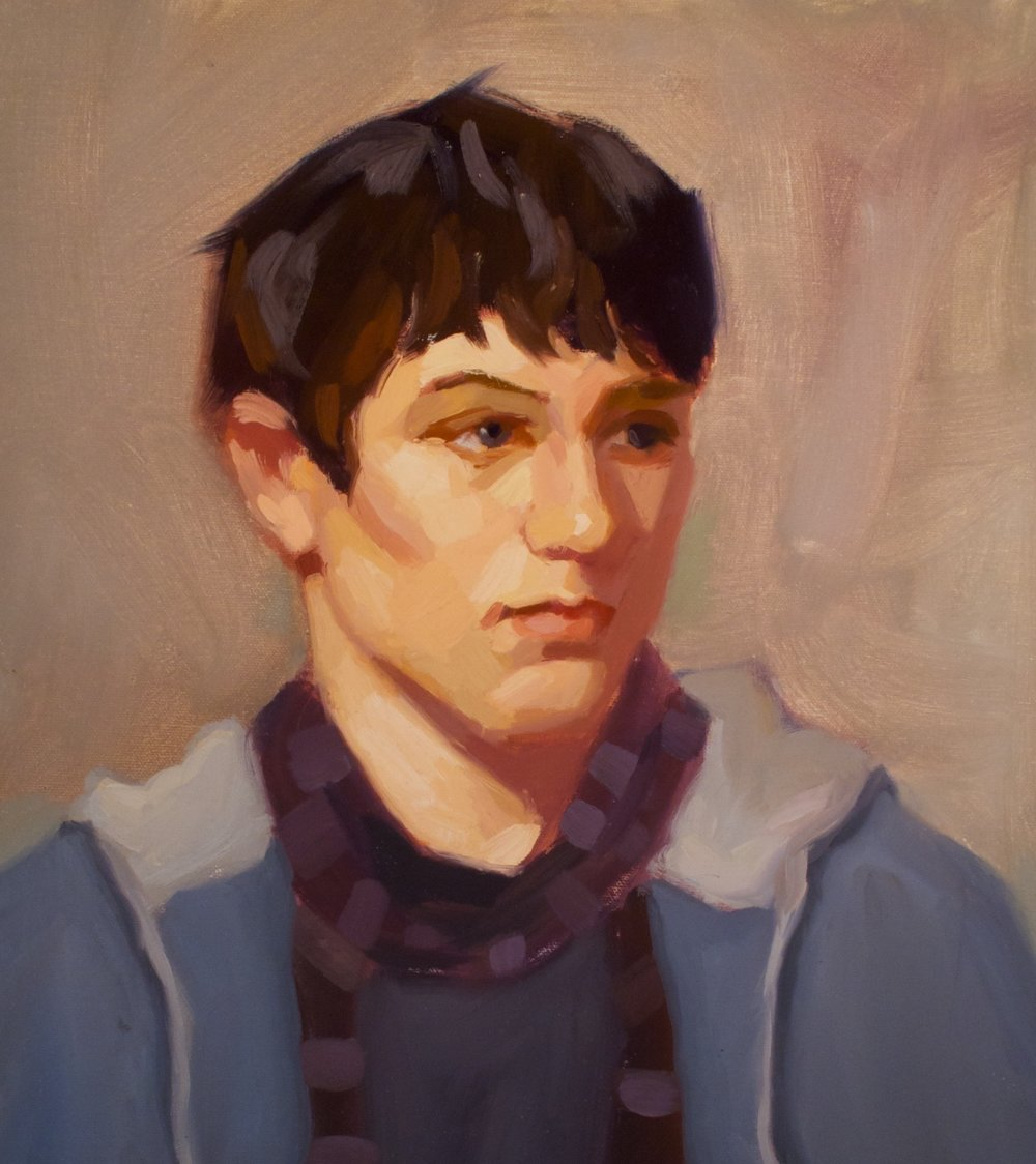Big Brush Portrait Painting  - Work in a small, focused learning environment emphasizing individual feedback and instruction.Saturdays: January 26 - March 10 ( 8 wks )