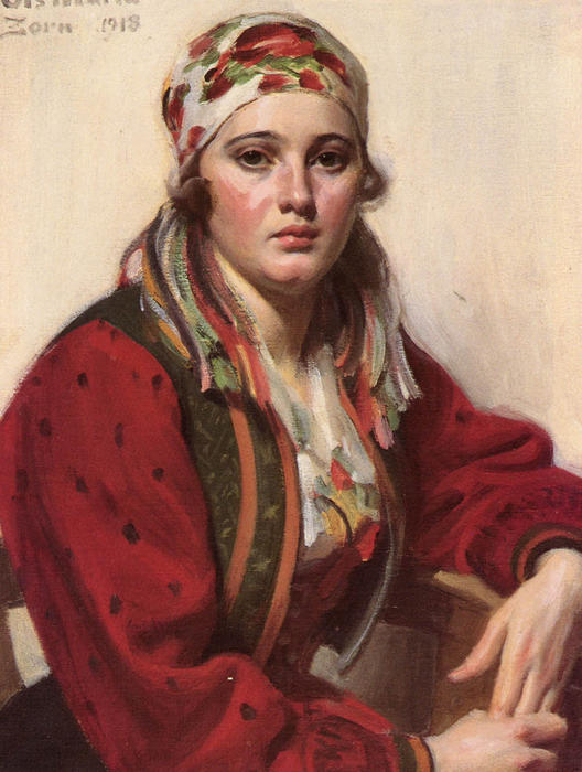 Maria Ols by Anders Zorn