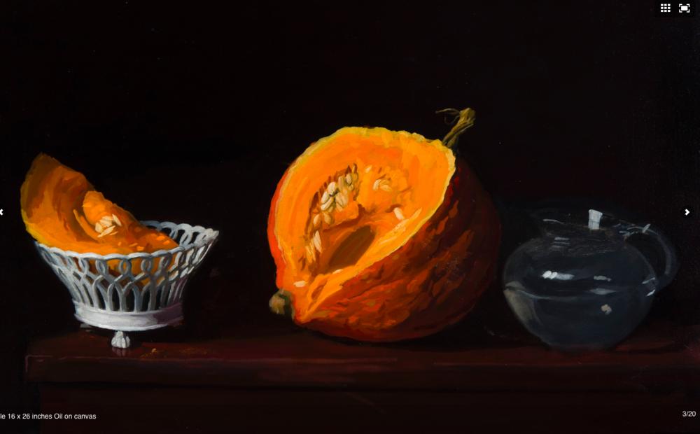 Axel, 16 x 20, oil on canvas