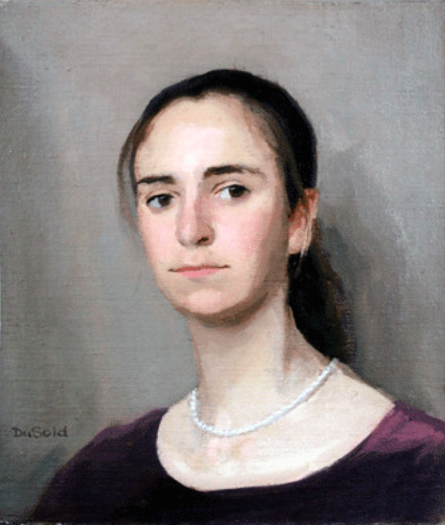 Rachel, 16 x 20, oil