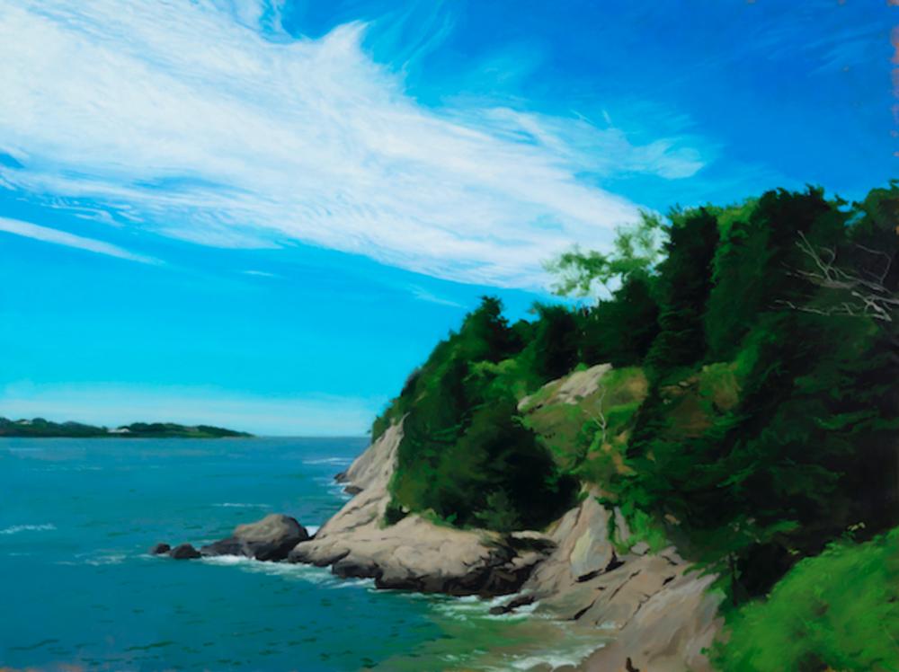 Ariel, 50 x 24, oil on canvas