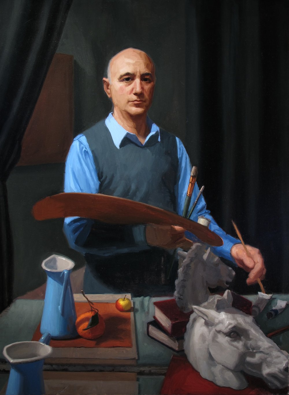 Studio Still-life & Self Portrait