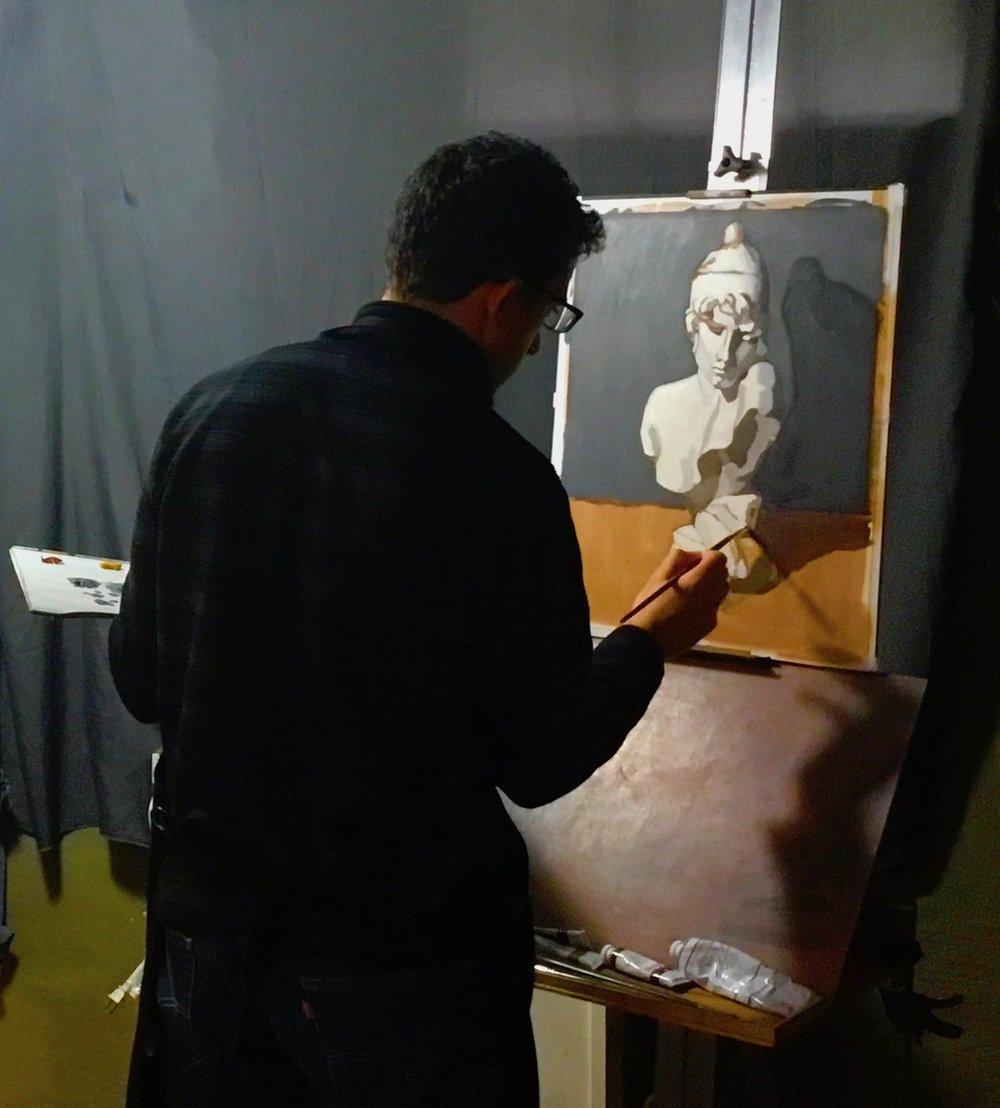 Mentored Drawing & Painting Studio - I teach the Cours de Dessin by Charles Barque, an in-depth, step-by-step approach to drawing that's tried and true.Open monthly enrollment.