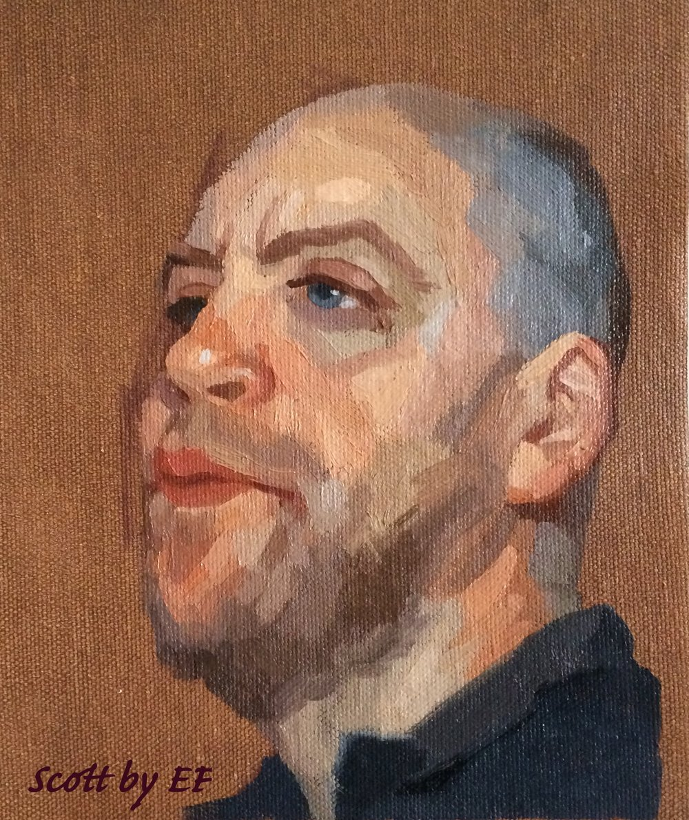 Portrait Painting! - Dates: April 6th - May 11thSaturdays: 9:30 - 1pmRegardless of style you'll benefit from the alla prima approach and other essential concepts of portrait painting.