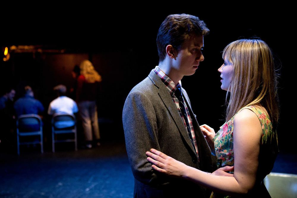 SET IN THE LIVING ROOM OF A SMALL TOWN AMERICAN PLAY // by Jaclyn Backhaus // directed by John Kurzynowski  Lights // Walker Space  Photo by Hunter Canning