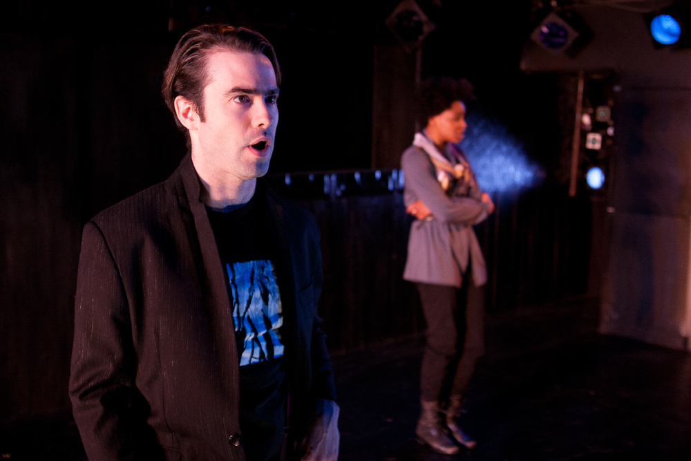 THE ELECTRIC LIGHTHOUSE // By Ed Hime //directed by Kristan Seemal  Lights // The Flea Theater