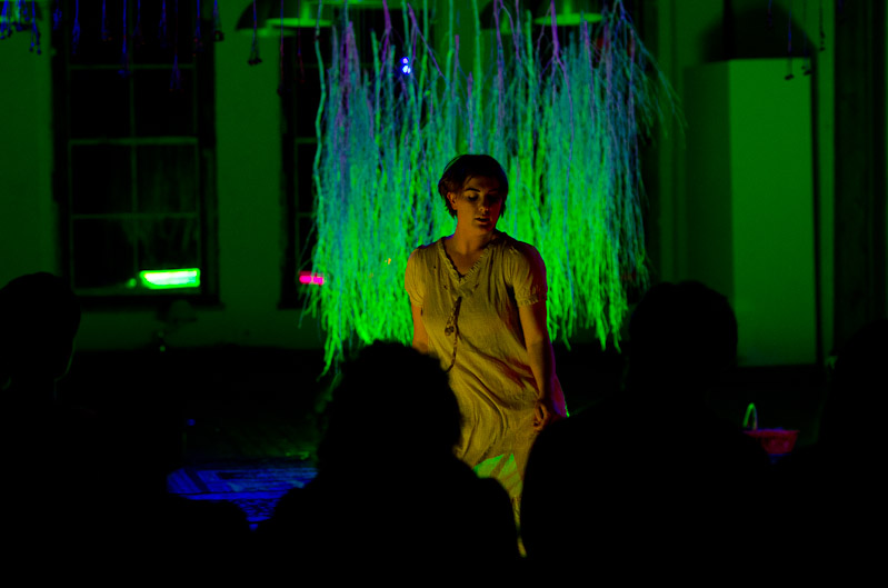 NIGHTSONG // By Melanie Jane Parker //directed by Teff Nichols  Lights and Set // Invisible Dog