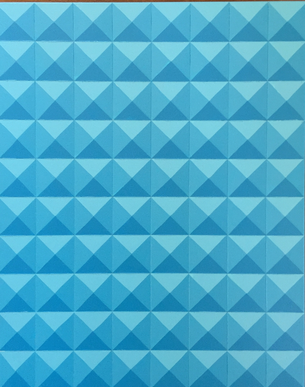 Light Blue Geometric