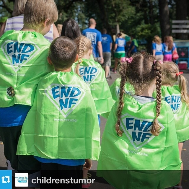 Super Heroes in their capes. #Repost from @childrenstumor