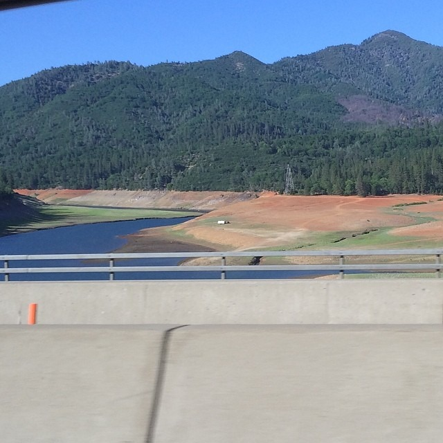 And it's only May. 😥 #Lake #Shasta #drought