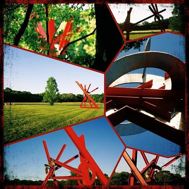 #disuvero #easthampton #sculpture #vscocam h1 #fuzel (at East Hampton Village District)