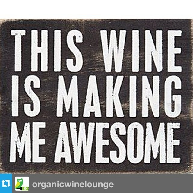 #Repost from @organicwinelounge