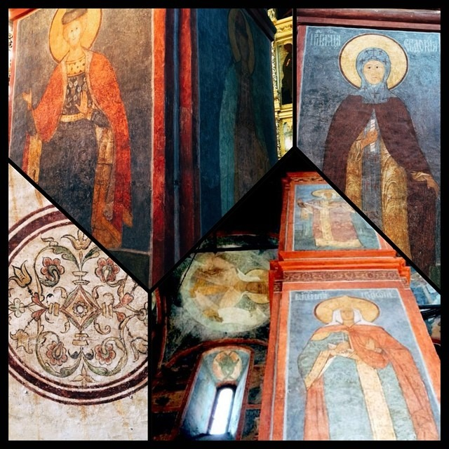 Novodevichiy Convent frescoes