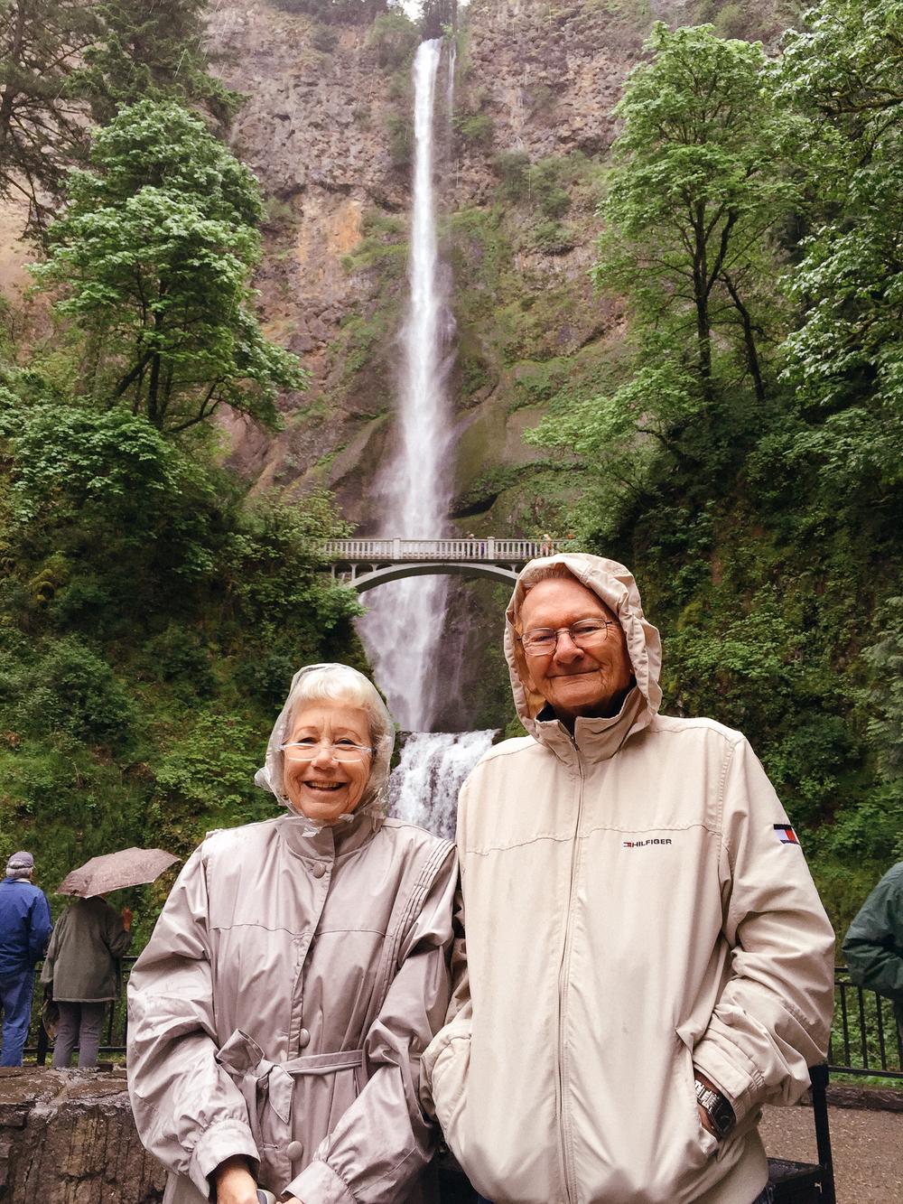 Multnomah Falls, WA (May 2015)