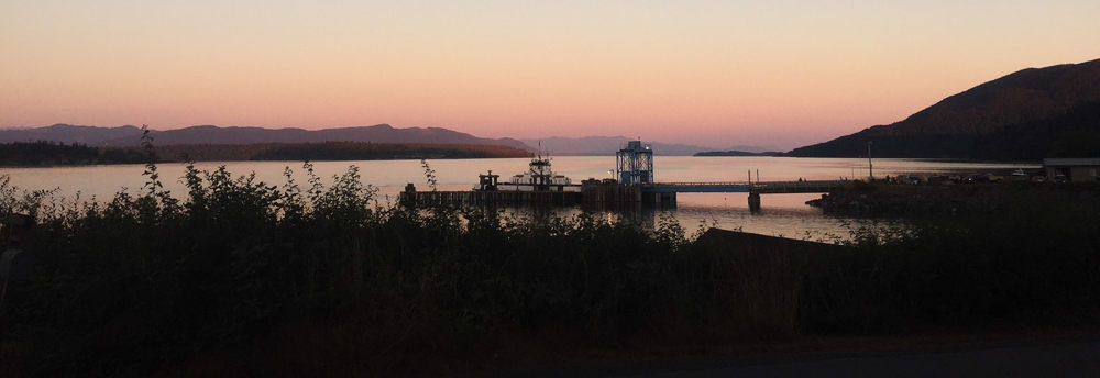 Ferry Terminal, Lummi Island, WA (July 2015)