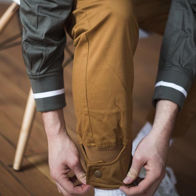 "The details are not the details. They make the design."" Our Olive ""Jockboy"" Shirt paired up with our ""Schoolboy"" pants/joggers . . . 📸@_chrissant #Okitobrand #okito #okapi"