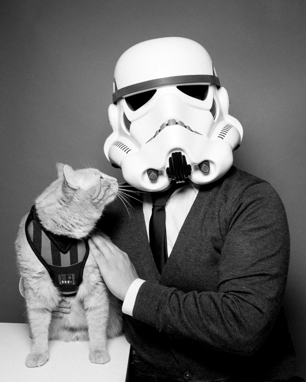 Tiny Deer Studio Portrait - Star Wars - Cat - Storm Trooper.jpg