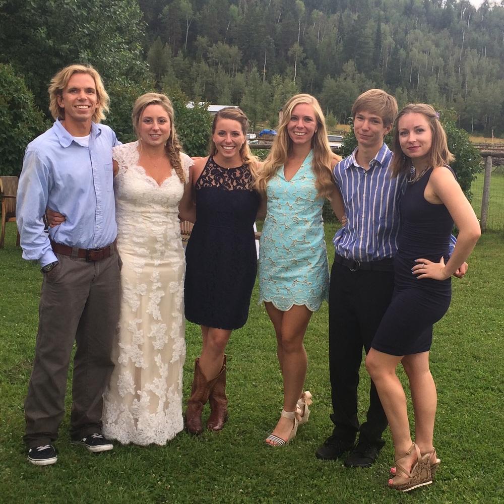 The cousins: Quinn, Madora, Linnehea, Clara, Will, and myself.