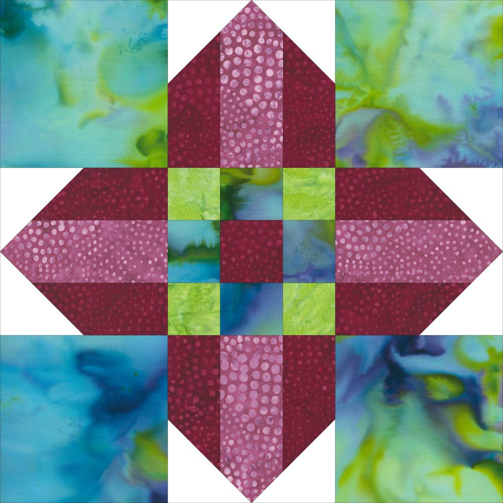 Block A1 for Colorway 1 and 2