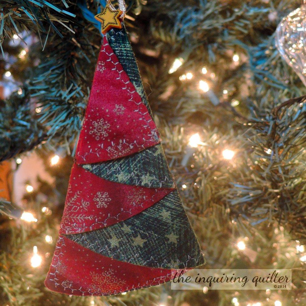 Folded Tree Ornament