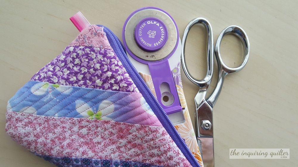 Fabric Scissor Cozy