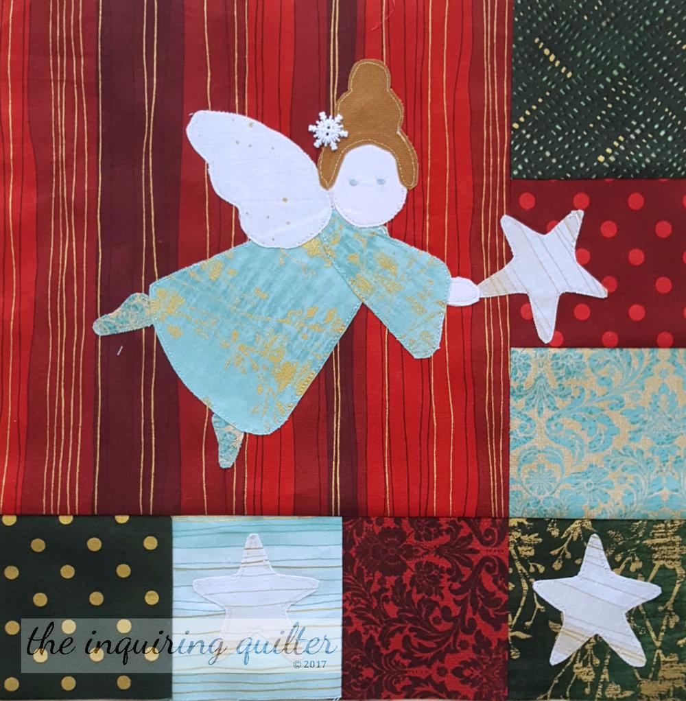 Block 6 - Hanging Stars Angel