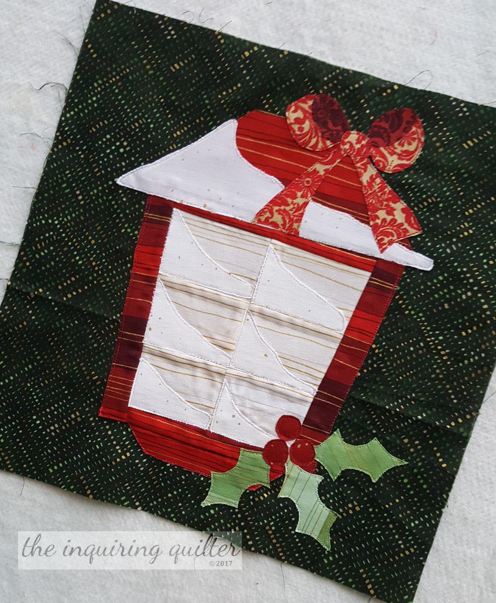 Block 10 - Christmas Lantern