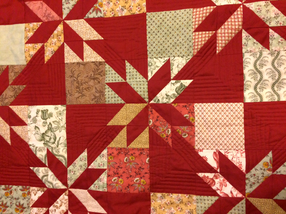Cherie's Quilting Arrows from Week 33