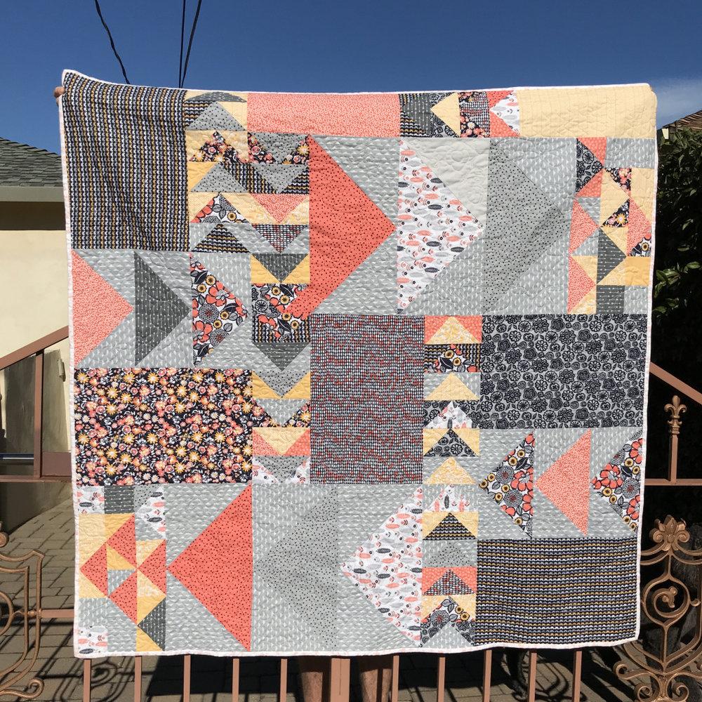 Patti's Destination quilt from Week 42