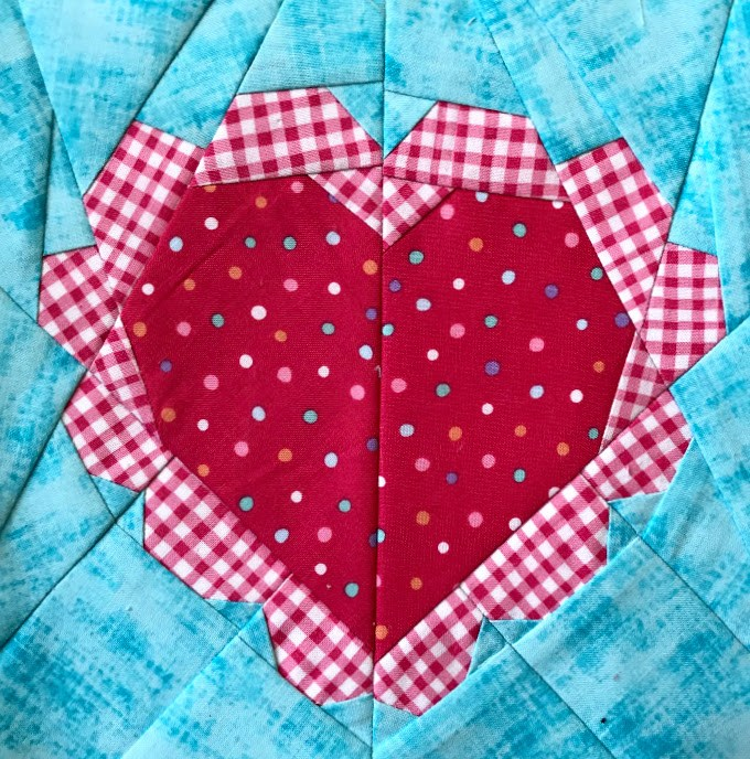 Marney's Scallopped Heart Valentine