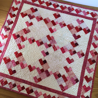 Pamela's Mini Love challenge quilt