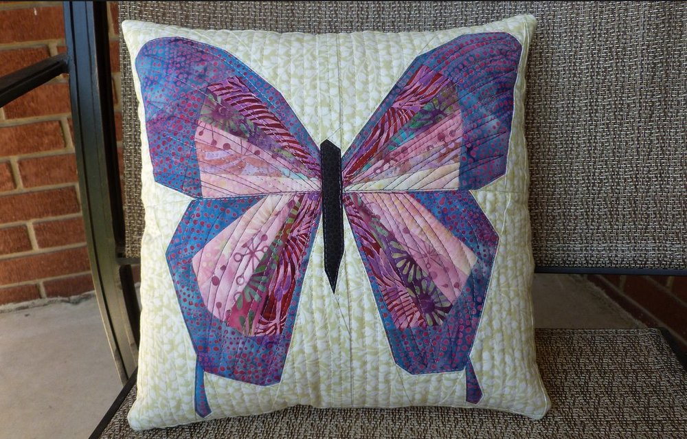 Lisa Marie butterfly pillow by Juliet of Tartankiwi on Craftsy.JPG