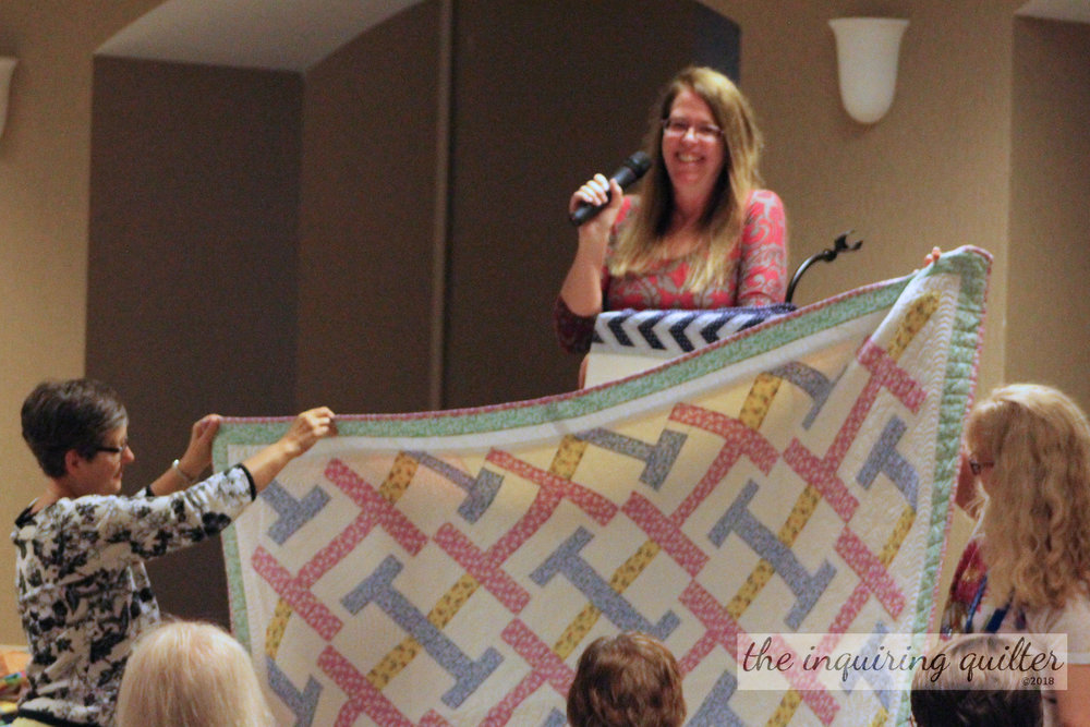 """Interwoven - A quilt pattern in my book, """"Idiots Guide: Quilting"""""""