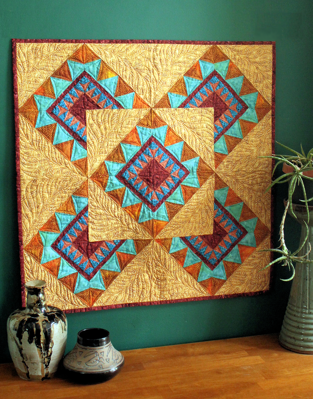 Mirage wall hanging - pattern in my store