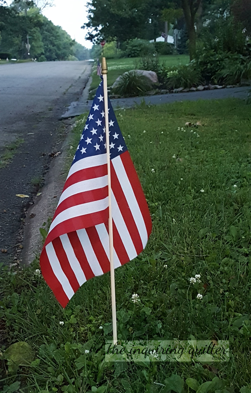 Planting flags July Fourth 2017 1.jpg