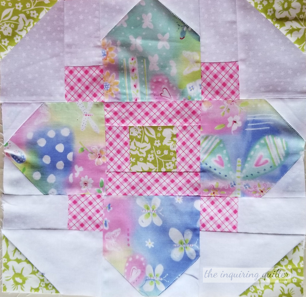 January's block for Sharon