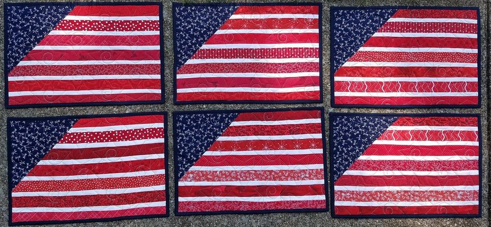 Lisa Marie flag placemats.JPG