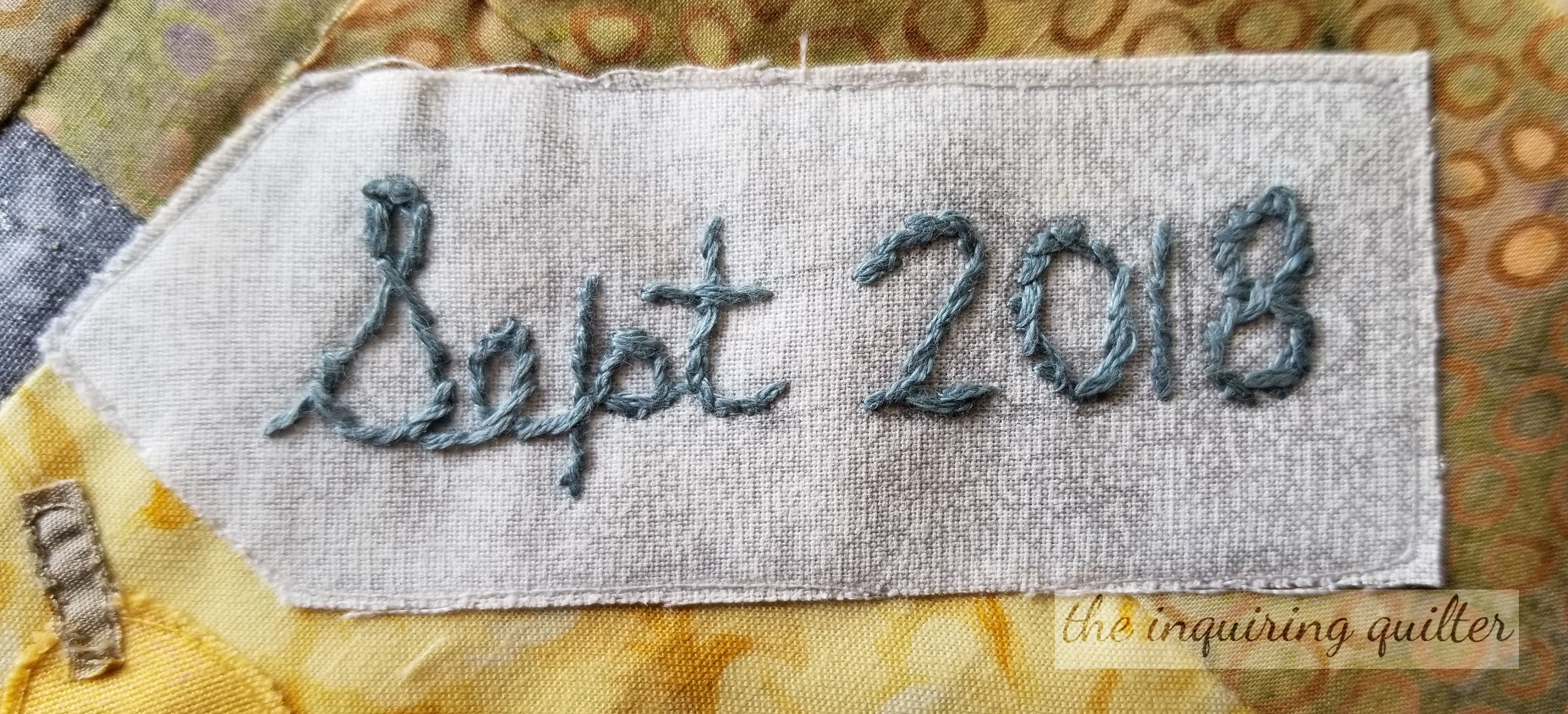How To Use The Stem Stitch Embroidery The Inquiring Quilter