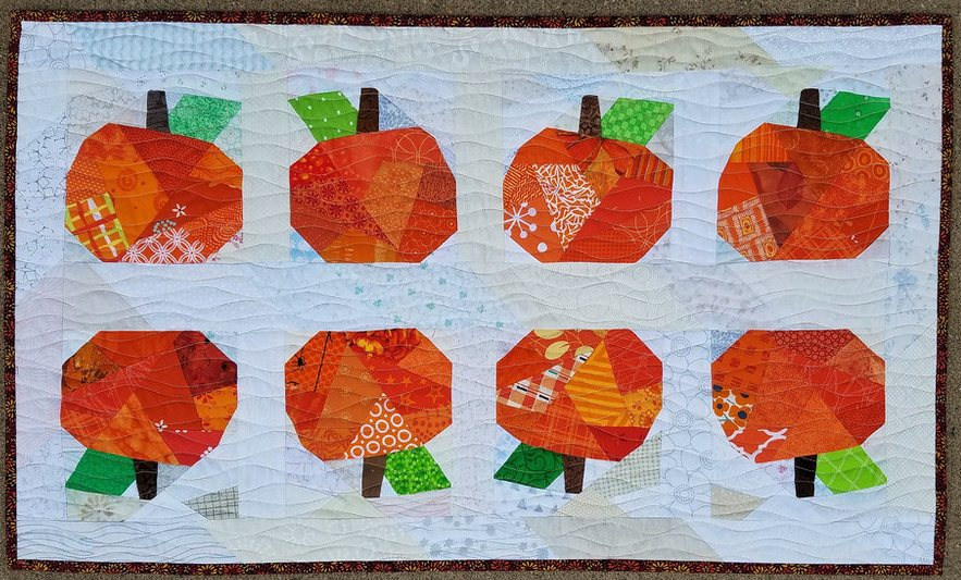 Lisa Marie pumpkin table runner.JPG