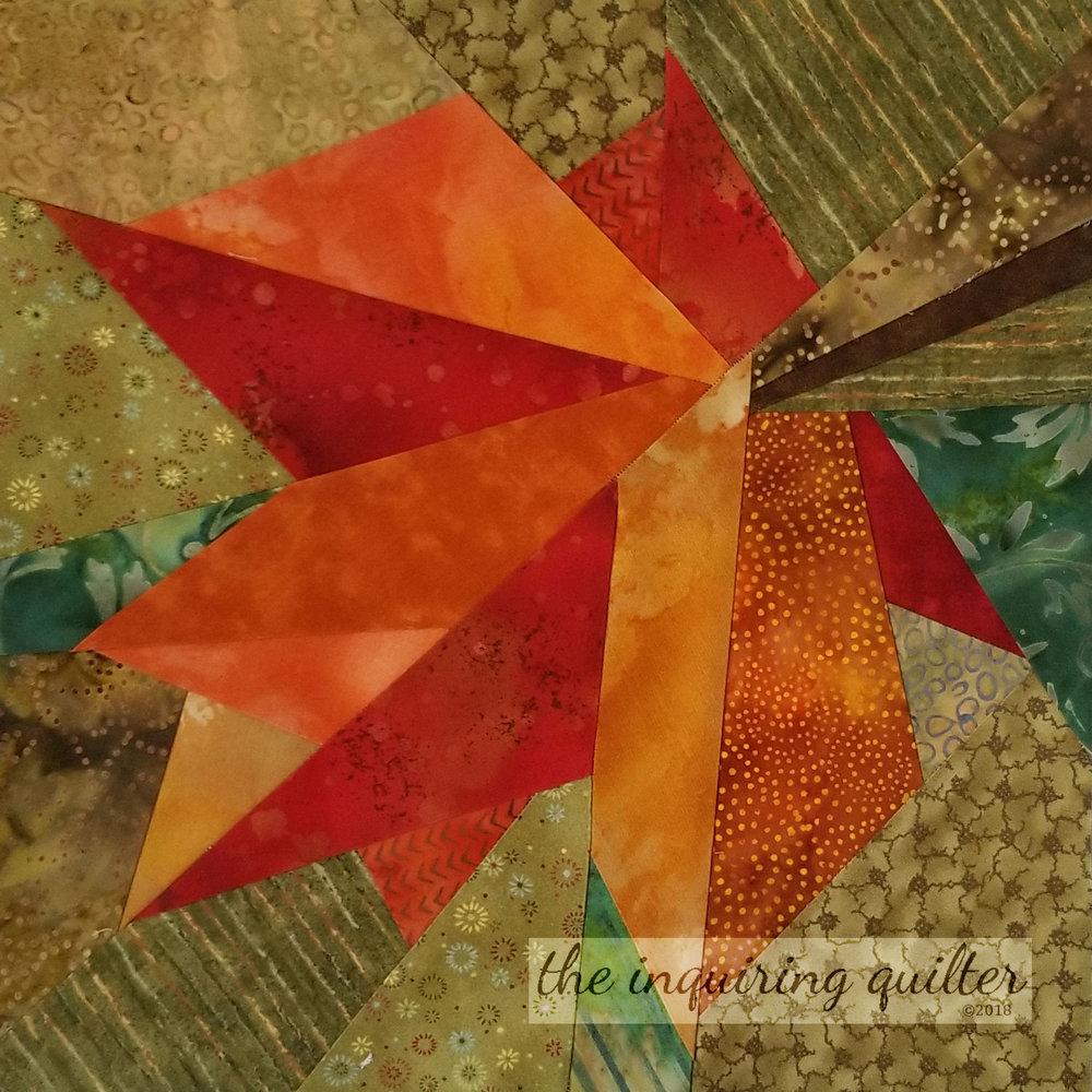 Block 8 - Autumn Leaf