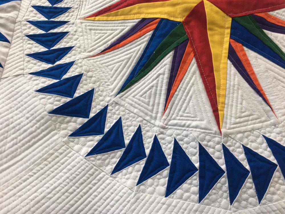 Cherie ruler work on her quilt.jpg