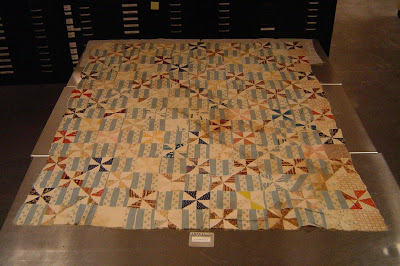 Alison vintage quilt from Gettysburg was inspiration for this quilt this year.JPG