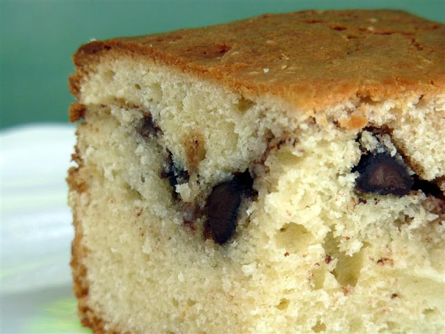 easy chocolate chip cake