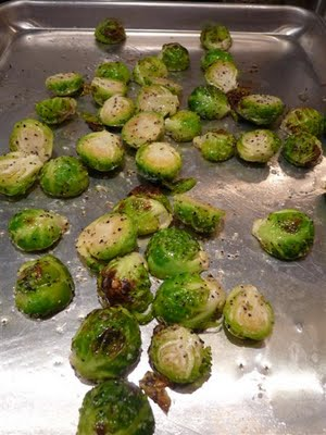 How to roasts brussels sprouts - how to photos