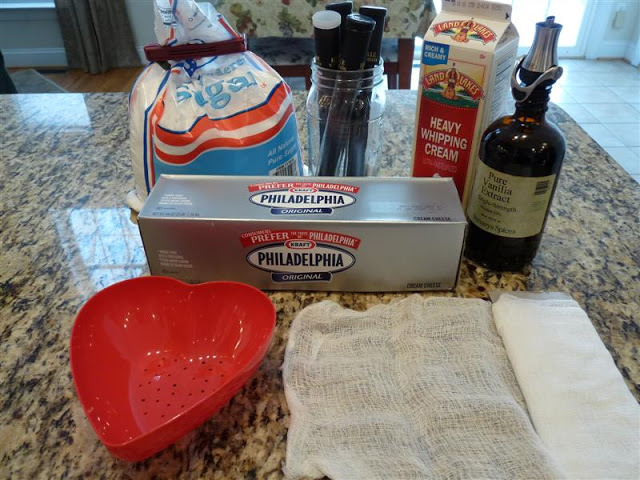 How to make Coeur a la Creme - recipe with photos