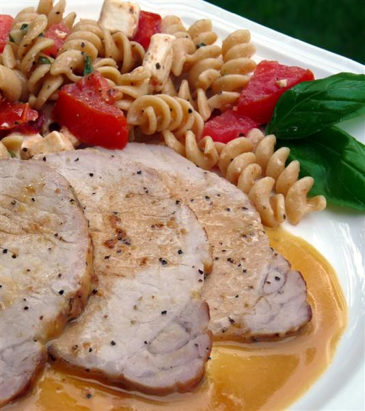 maple brined pork loin - ButterYum.  how to cook a pork loin.  what to do with a pork loin.  pork loin recipe.