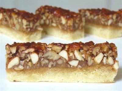 Vanilla Nut Bars, Pecan Squares, Ina Garten - Barefoot Contessa