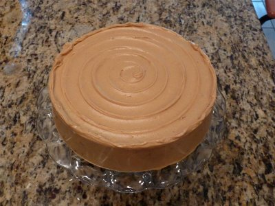 easy swirl cake decoration