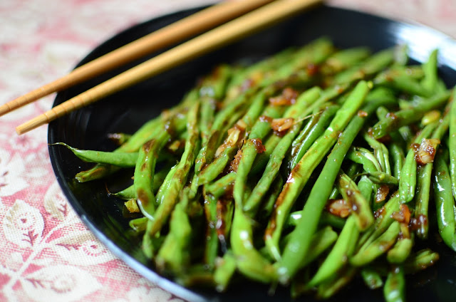 Wrinkled Asian-Style Green Beans - ButterYum