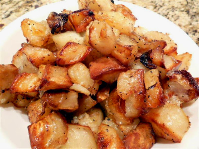 Super Crunchy Oven Roasted Potatoes - ButterYum